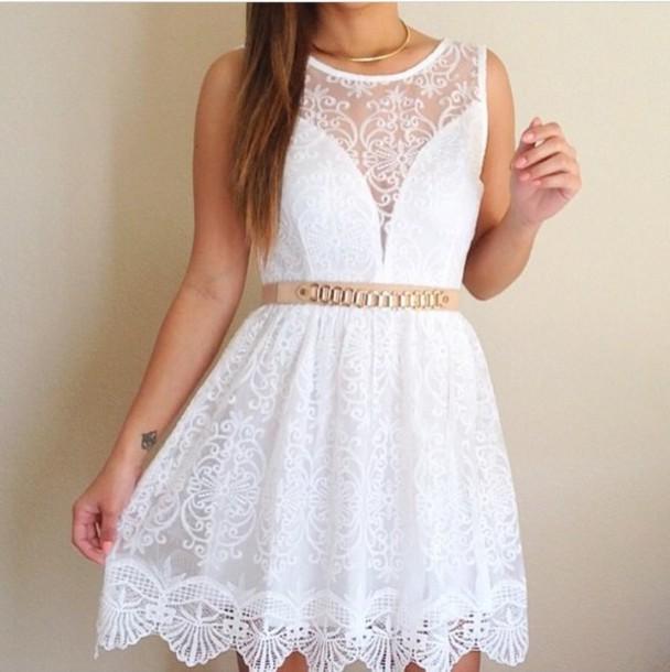 dress white lace dress white lace dress