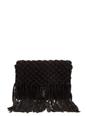 bag,clutch,suede,black