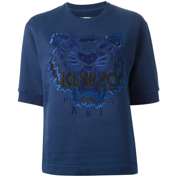 Kenzo Tiger Embroidered Sweatshirt