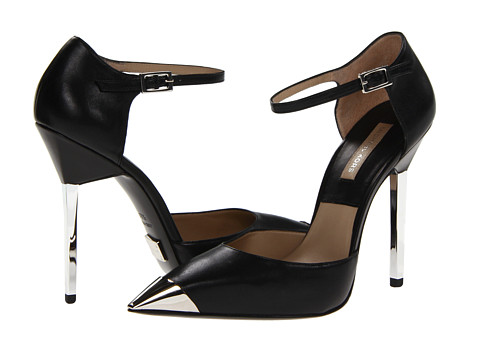 Michael Kors Collection Arielle Black Smooth Calf - Zappos Couture