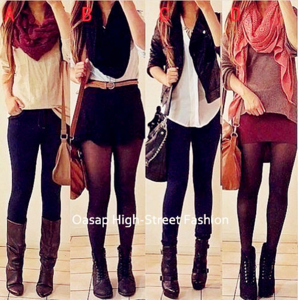 scarf oasap oasap_fashion bag jacket sweater cardigan shorts jeans skirt shirt fall outfits winter outfits oufit fashion clothes accessories top