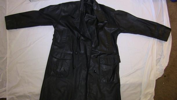 coat leather jacket trench coat