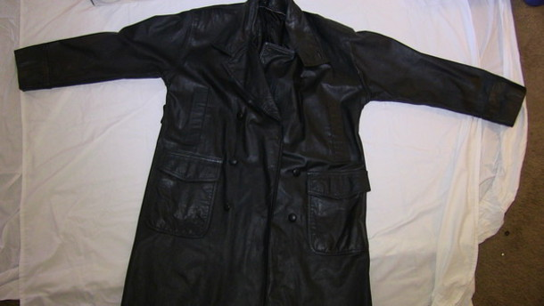 coat leather jacket trenchcoat