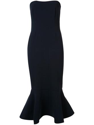 dress strapless dress strapless women draped blue
