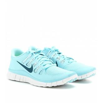 shoes nike free run ice blue