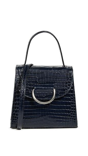 satchel lady navy bag