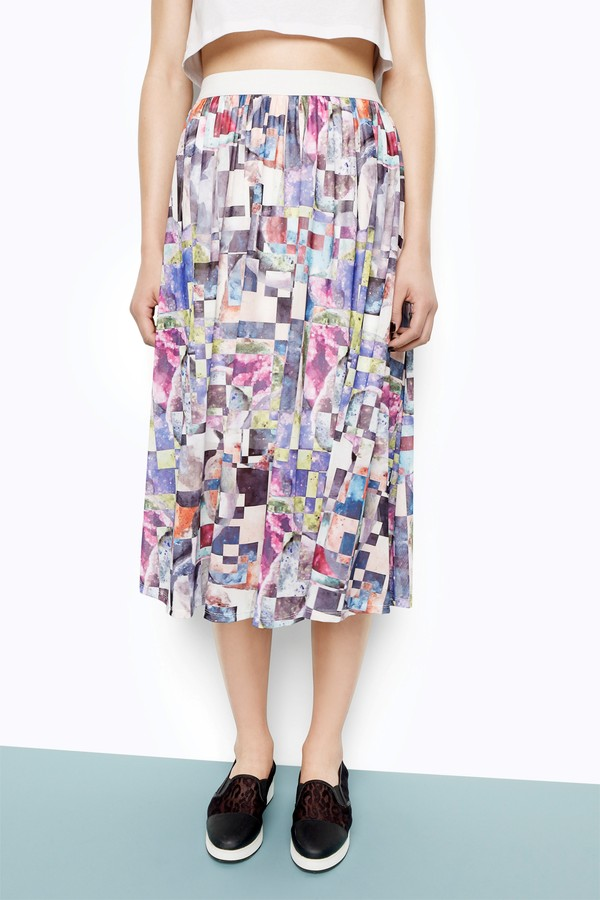 skirt swing skirt monki