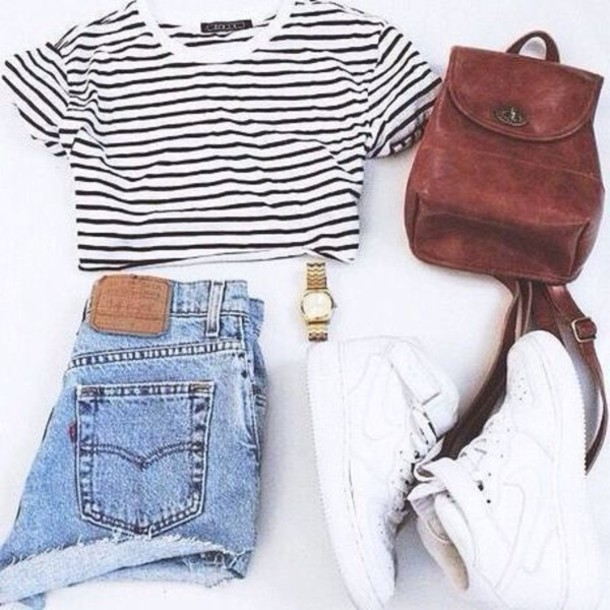 bag, tumblr, tumblr outfit, cute outfits, aesthetic, cute ...
