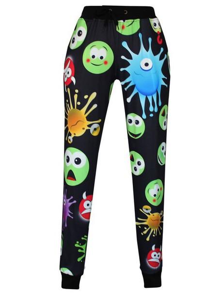 pants emoji print pants 2015 pants emoji print emoji pants emoji shirt emoji print emoji print sports leggings trendy