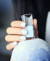nail polish,mint nailpolish,mint nails,blue-ish nail polish,baby blue,sky blue polish