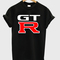 Nissan gt r fast car graphic t-shirt