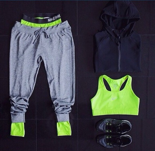 pants workout grey sweatpants