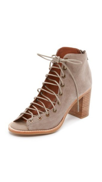 Jeffrey Campbell booties taupe shoes