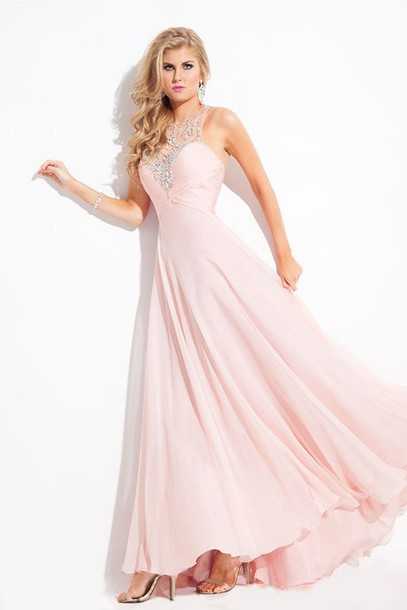 dress prom dress prom dress pink dress pink prom dress chiffon dress party dress dress to party