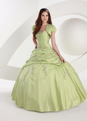 dress,strapelles,jade,low back,embroided,tippet,evening dress