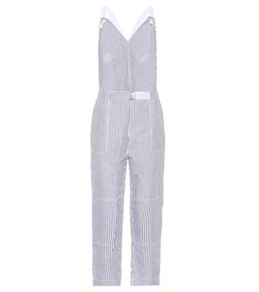 Rag & Bone Ellen cotton and linen jumpsuit in white