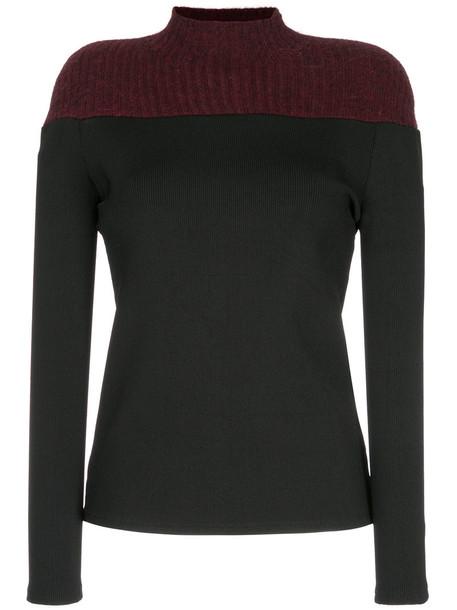 Christopher Esber sweatshirt women spandex black sweater