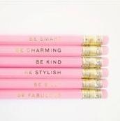 top,pencils,pink,beauty fashion shopping