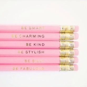 top pencils pink beauty fashion shopping
