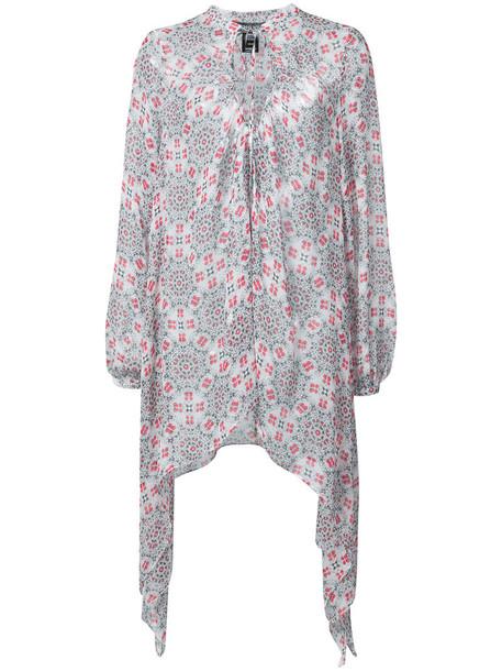 Thomas Wylde blouse women black silk top
