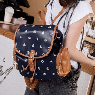 backpack bag fashion popular girl cute new school bag beautiful preppy cool