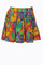 (sample)colorful rosery vine pleaded iammi skirt s/m