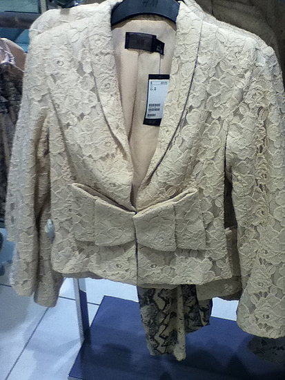 H&m version of blake lively's marchesa jacket