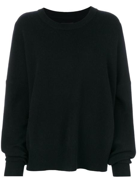 Zadig & Voltaire jumper women black wool sweater