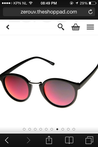 sunglasses black red cat eye sunglass cats eye