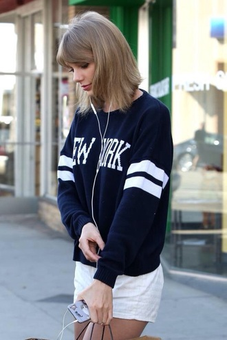 sweater blue style taylor swift