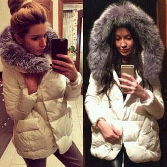 coat fur faux fur faux fur jacket faux fur coat winter outfits warm cold selfie instagram winter coa