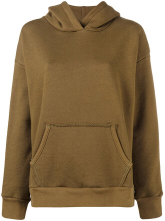 hoodie women cotton green sweater