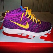 shoes,purple shoes,yellow shoes,nike,nikes,custom made,custom shoes,fresh prince,nice shoes,nike sneakers,sneakers