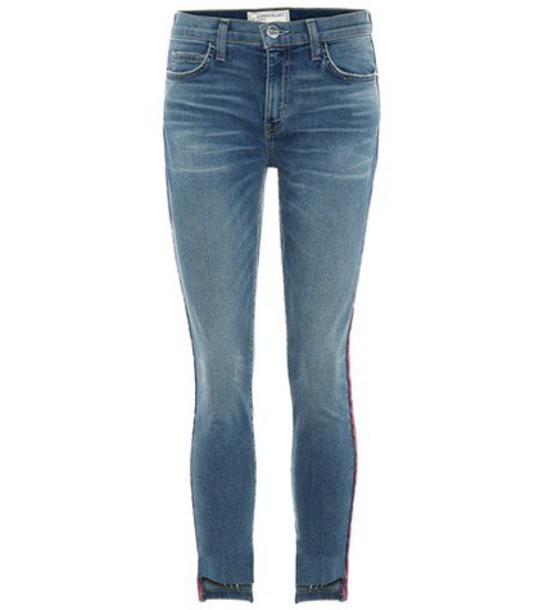 Current/Elliott The Stilleto skinny jeans in blue