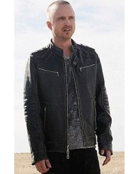 jacket, breaking bad, jesse pinkman, leather jacket, black