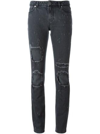 jeans women cotton black