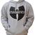 Wu Wear Wu Tang Logo Hoodie Heather Grey Wu Tang Clan Kapuzenpullover Grau M XXL | eBay