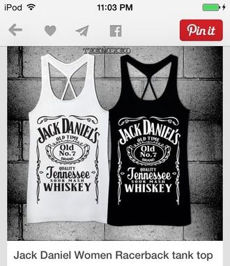 jack daniels shirt jack daniels tank top jack daniel's cute cute shirts lovely hot hot shirt