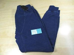 KITH NYC NEW YORK QUILTED DENIM BLEEKER SWEAT JOGGER PANTS BLUE S RONNIE FIEG