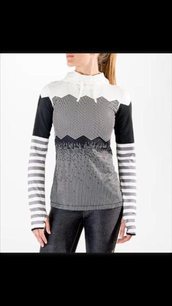 jacket nike hyperwarm compression print hoodie top nike pro hyperwarm engineered print hoodie