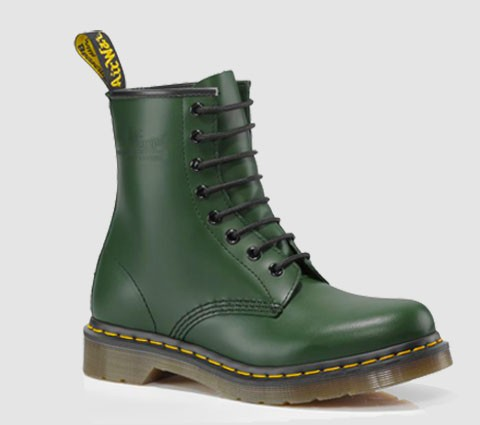 Dr Martens Canada | 1460 W - GREEN - SMOOTH - R11821313