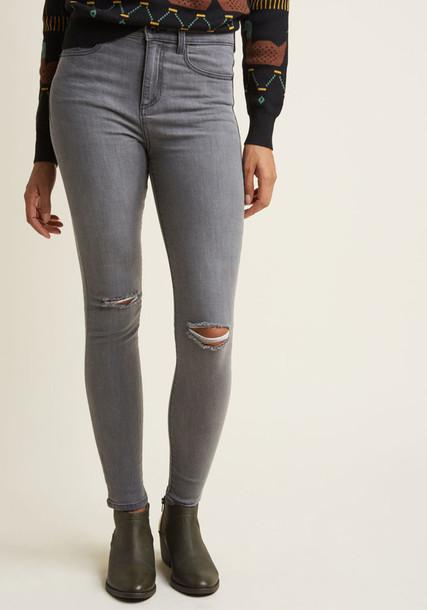 SP-P9606GR jeans skinny jeans new grey