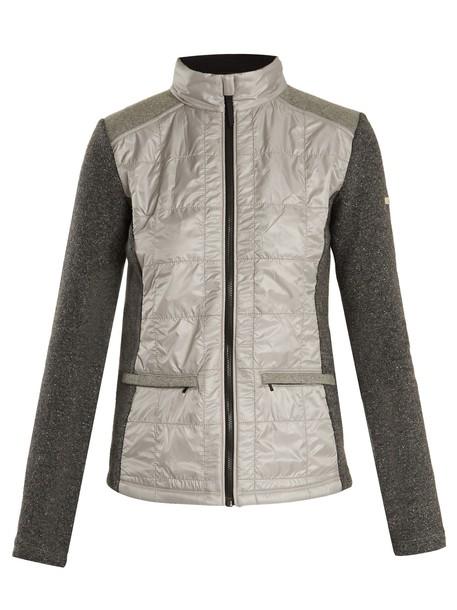 CAPRANEA jacket quilted grey