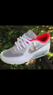 shoes,air max,white,pink,grey,nike air max 90,sneakers,classic,mesh,beautiful,swag,nike,running shoes,cute,workout shoes,nike low price,this color,run,nike air force,90,red trim,clothes,red,yeezy,nike sneakers,nike air max 90 hyperfuse,nike running shoes,nike air,low top sneakers,nike shoes,grey sneakers,trainers,style,nike sweater,gold,hot pink,pretty,gold sequins,gold chain