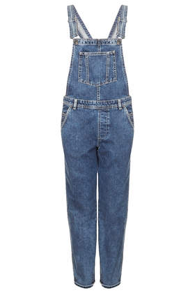 MOTO Long Leg Dungaree - Playsuits & Jumpsuits  - Clothing  - Topshop