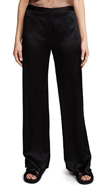 Jenni Kayne pants satin black
