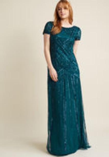 Adrianna Papell dress maxi dress maxi green