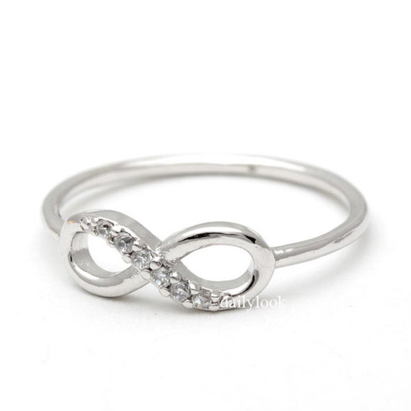 jewels jewelry ring infinity ring silver infinity ring infinity silver ring infinity jewelry woman ring mothersday gift anniversary ring eternity ring