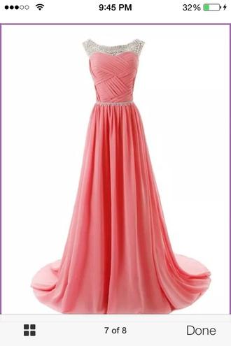 dress coral dress coral prom dress coral