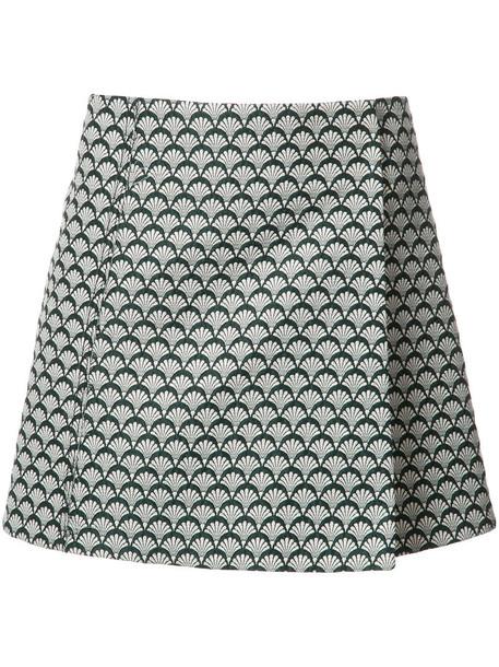 MISHA NONOO skirt women cotton wool green